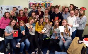 Juryklasse fra Langhaugen vgs i Bergen 2015/16