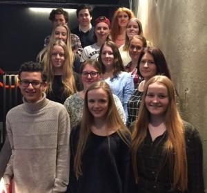 Storjuryen 2016. To representanter fra hver klasse tar den endelige avgjørelsen. Foto Vibeke Røgler, Foreningen !les
